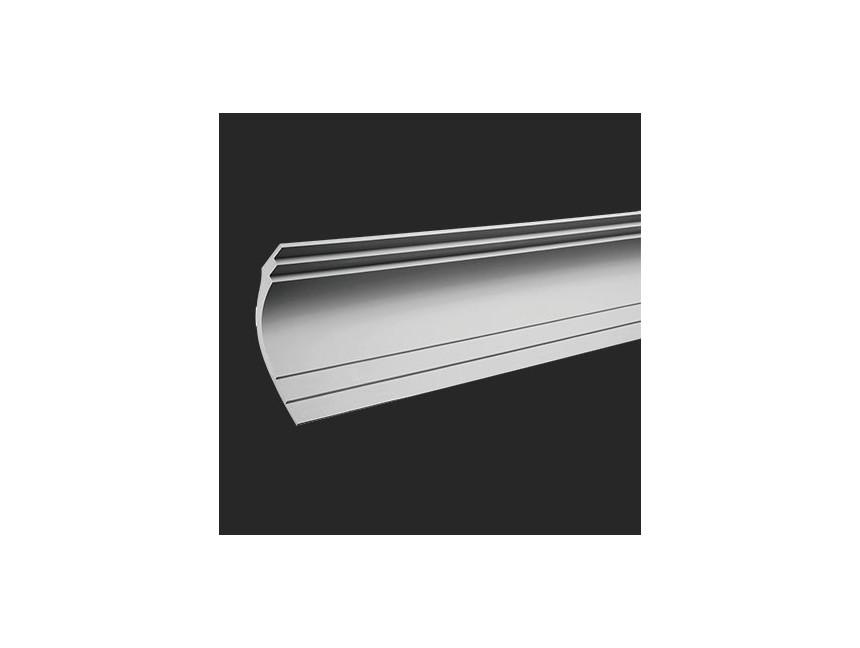 Listwa przypodłogowa Mardom Decor MD017A aluminium