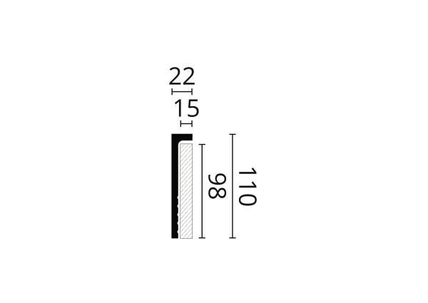 ORAC DECOR CX148 Listwa sufitowa