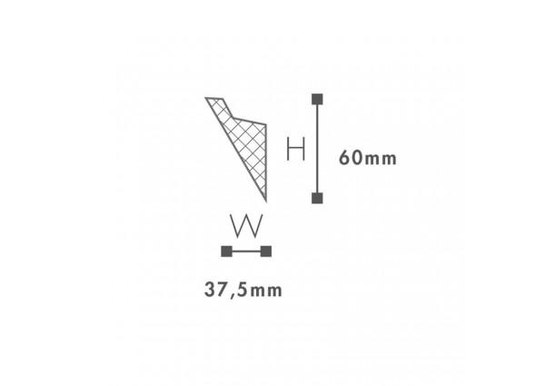 Listwa przypodłogowa ORAC DECOR  DX157Flex