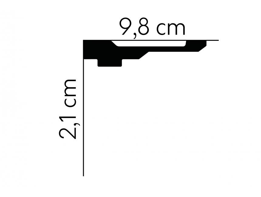 Creativa LPC-06a Listwa przypodłogowa