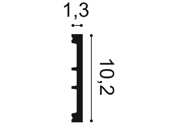Creativa LPC-18M Listwa przypodłogowa
