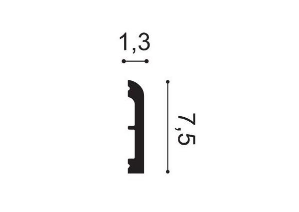 Listwa sufitowa łuk NMC Nomastyl O24