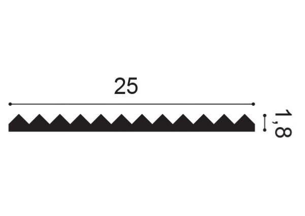 Listwa sufitowa NMC Nomastyl ST3