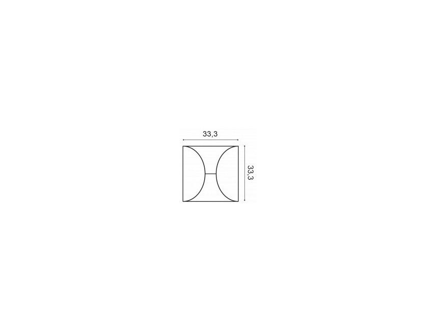 ORAC DECOR P1020 Listwa ścienna